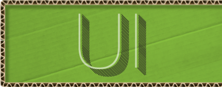 Logo section label
