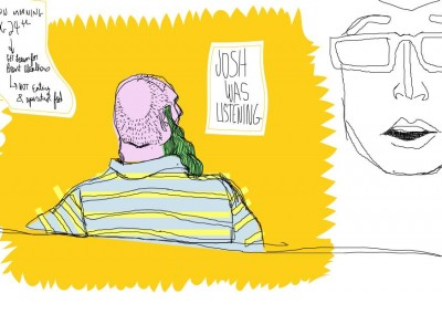 Josh Was Listening  -  www.richardsaddress.com -  Prime Minister of Graphic Design