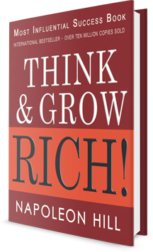 THINK & GROW RICH! Book Cover