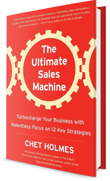 The Ultimate Sales Machine: Turbocharge Your Business with Relentless Focus on 12 Key Strategies Book Cover