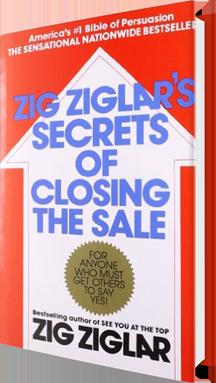 ZIG ZIGLAR'S SECRETS OF CLOSING THE SALE Book Cover