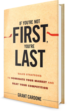 If You're Not First, You're Last Book Cover