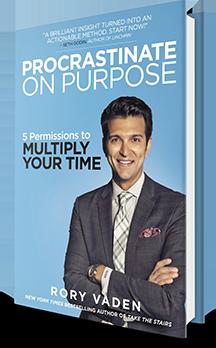 Procrastinate on Purpose Book Cover