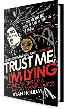 Trust Me, I'm Lying Book Cover