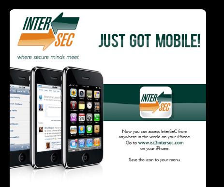 intersec app eblast