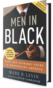 Men in Black: How the Supreme Court Is Destroying America Book Cover