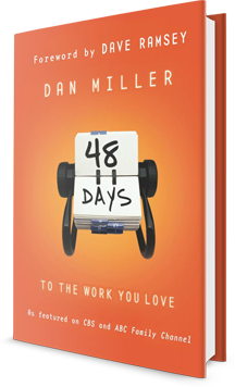 48 DAYS TO THE WORK YOU LOVE Book Cover