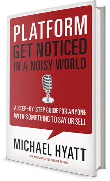 Platform: Get Noticed in a Noisy World Book Cover