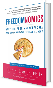 FREEDOMNOMICS, WHY THE FREE MARKET WORKS AND OTHER HALF-BAKED THEORIES DON'T Book Cover