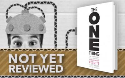 THE ONE THING – GARY KELLER with JAY PAPASAN