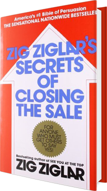 ZIG ZIGLAR'S SECRETS OF CLOSING THE SALE Book Cover