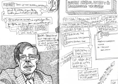 29. STEPHEN HAWKING, ENTROPY, & REMEMBERING THE FUTURE - Prime Minister of Graphic Design - Richard Smotherman
